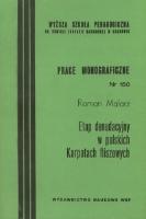 Malarz, Roman, 1992, Etap denudacyjny w polskich Karpatach fliszowych