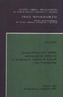Lach, Jan (1938- ), 1984, Geomorfologiczne skutki antropopresji rolniczej w wybranych częściach Karpat i ich Przedgórza