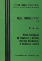 Cabaj, Wacław (1948- ), 1993, Wpływ sedymentacji na formowanie i strukturę tafocenozy karpologicznej w środowisku rzecznym