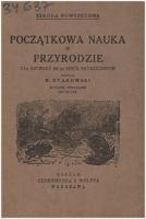 Dyakowski, Bohdan (1864-1940), [1931], Początkowa nauka o przyrodzie : dla oddziału III-go szkół powszechnych : z 52 rycinami