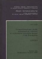 Lach, Jan (1938- ), 1984, Geomorfologiczne skutki antropopresji rolniczej w wybranych częściach Karpat i ich Przedgórza : aneks